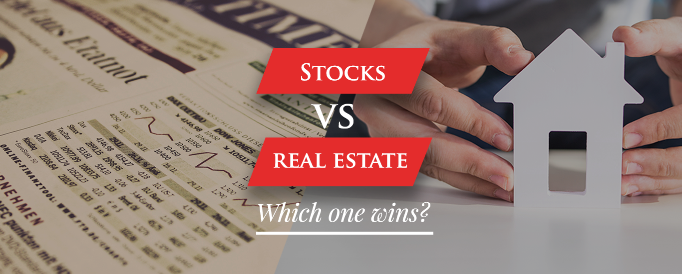Stocks Vs. Real Estate- Which One Wins 1366x550